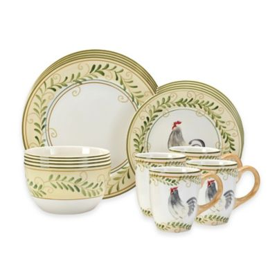 Pfaltzgraff® Country Cottage 16-Piece Dinnerware Set