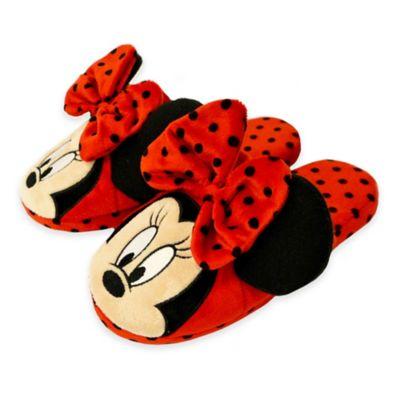 Disney® Size Medium Minnie Mouse Slip-On Mule Slipper