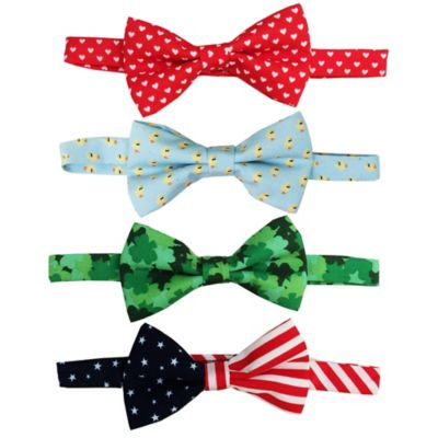 Rising Star™ Infant/Toddler 4-Pack Spring Holiday Bowtie Set