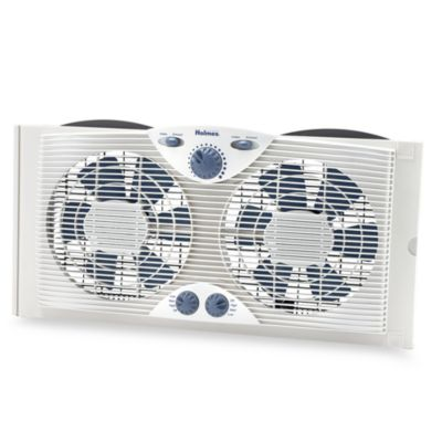 Holmes Twin 9-Inch Window Fan