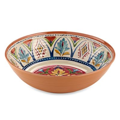 Mesa Medallion Serve Bowl