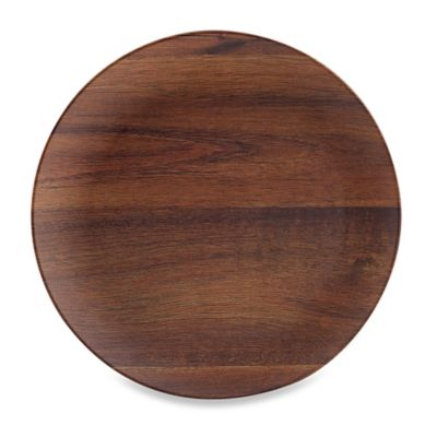 Phocacia Dinner Plate in Brown