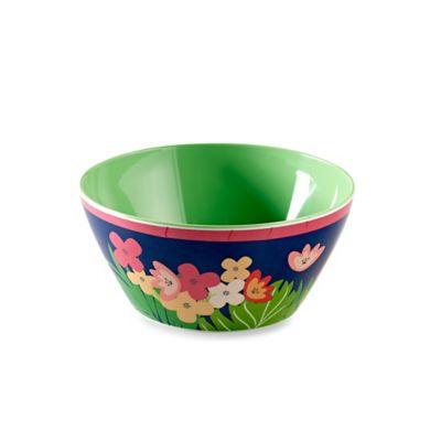 Prep Stripe Melamine Salad Bowl