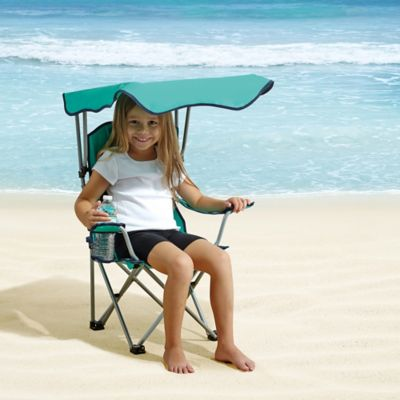 Kid's Canopy Chair in Teal