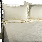 Matelasse Coventry Quilt Set in Ivory