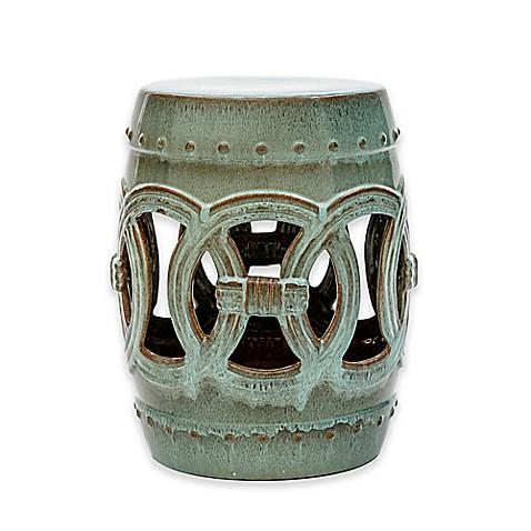 Abbyson Living 174 Talia 17 Inch Ceramic Garden Stool Www