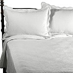 Matelasse Coventry White Quilt Set, 100% Cotton