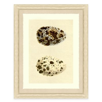 Double Egg III Framed Art Print