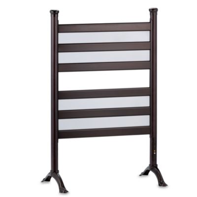 Warmrails Temperature Controlled Oil Rubbed Bronze Finish Towel Warmer and Drying Rack