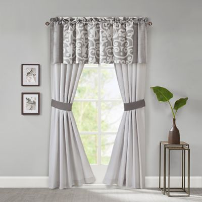 Dark Grey Curtain Panel