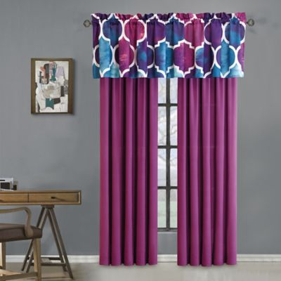 Emmi 84-Inch Rod Pocket Window Curtain Panel Pair