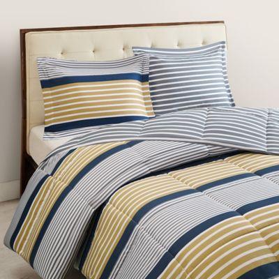 Paul 3-Piece Reversible Full/Queen XL Comforter Set