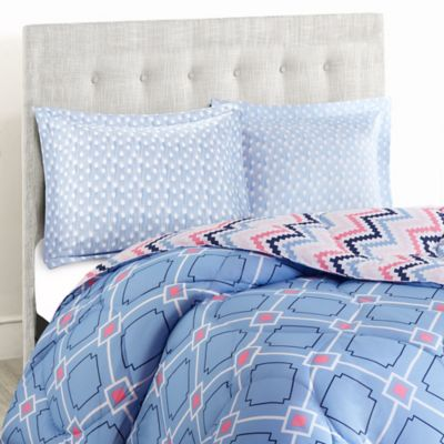 Pattern Play 2-Piece Reversible Twin/Twin XL Comforter Set