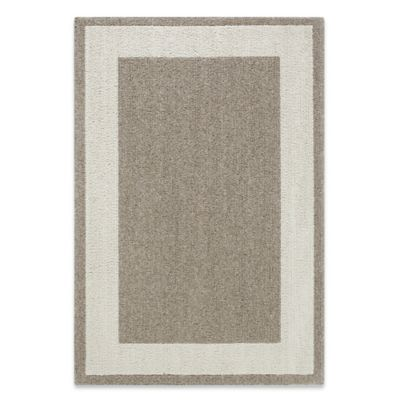 Classic Border 3-Foot 4-Inch x 5-Foot Accent Rug in Camel/Black