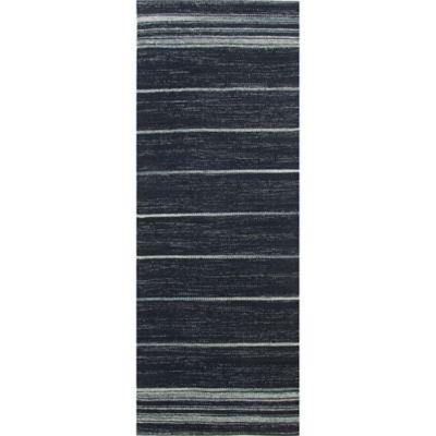 Navy Runner Rug