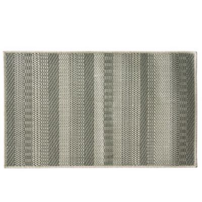 Bacova Woven Natural 1-Foot 8-Inch x 2-Foot 9-Inch Accent Rug in Grey