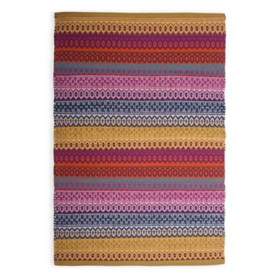 Artisan 2-Foot x 3-Foot Handwoven Accent Rug in Brown/Red
