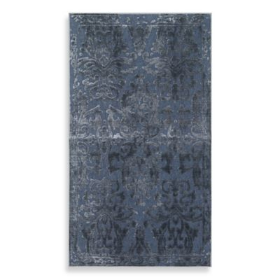 Mohawk® Infinity 2-Foot 1-Inch x 3-Foot 9-Inch Accent Rug in Steel Blue