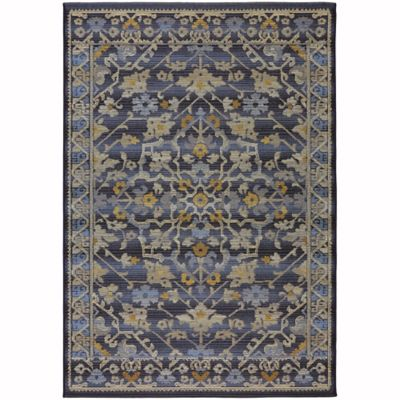 Sicily Indoor/Outdoor 8-Foot x 10-Foot Area Rug in Navy