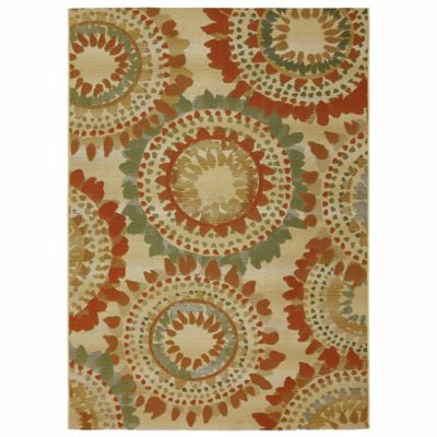 Barbados Burst 8-Foot x 10-Foot Indoor/Outdoor Area Rug