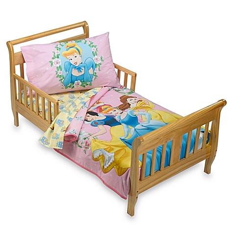 Disney Princess Magical Garden 4 Piece Toddler Bedding Set Bed Bath Beyond