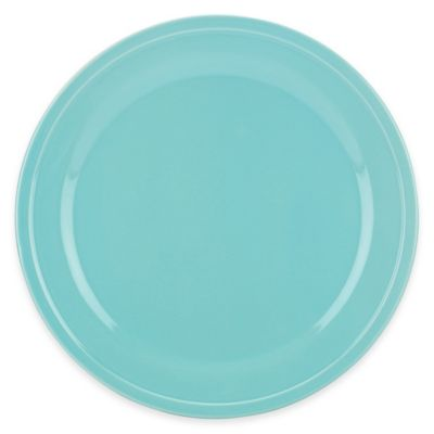 kate spade new york All In Good Taste Sculpted Scallop Dinner Plate in Turquoise