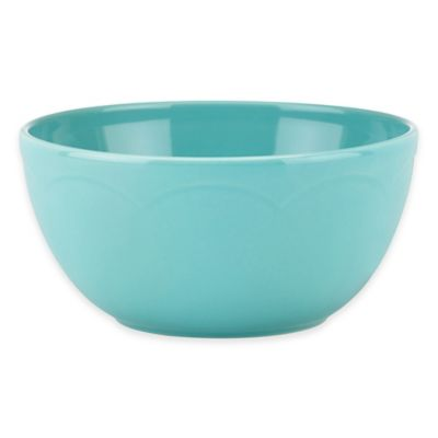Turquoise Cereal Bowl