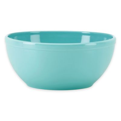 kate spade new york All In Good Taste Sculpted Scallop Serve Bowl in Turquoise