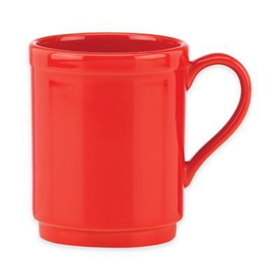 45853265kate spade new york All In Good Taste Sculpted Scallop Mug in Red