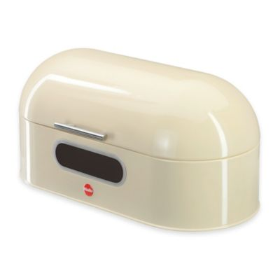 Hailo KitchenLine Bread Bin Oval in White