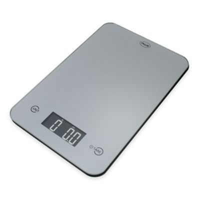 American Weigh ONYX Slim Kitchen Scale in Silver