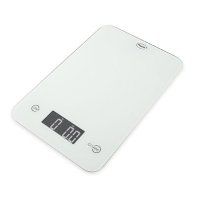 American Weigh ONYX Slim Kitchen Scale in White