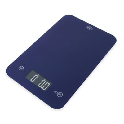 American Weigh ONYX Slim Kitchen Scale in Blue