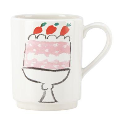 kate spade new york All In Good Taste Cake Accent Mug