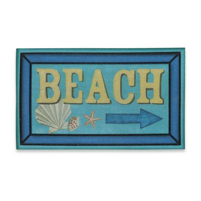 18-Inch x 30-Inch Shoreline Signs Door Mat