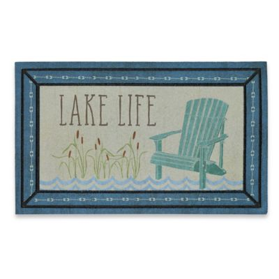 Mohawk Home Lake Life Retreat 18-Inch x 30-Inch Door Mat