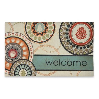 Mohawk Home Lodge Suzanni 18-Inch x 30-Inch Door Mat