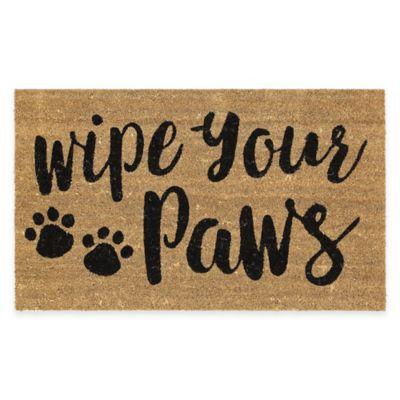 Mohawk Home Wipe Your Paws Coir Door Mat