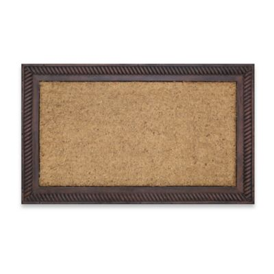 Tan Brown Door Mat