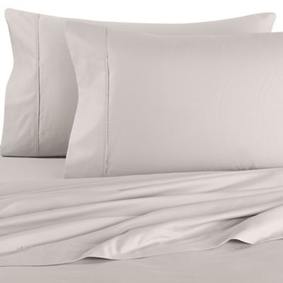 Brookstone® BioSense® 500-Thread-Count King Sheet Set in Silver