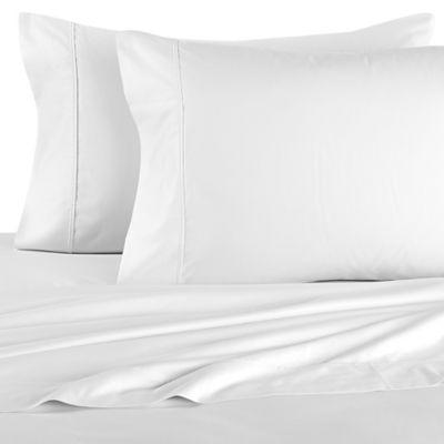 Brookstone® BioSense® 500-Thread-Count Standard Pillowcases in White (Set of 2)