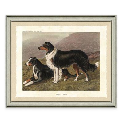 Dog Scene II Framed Art Print