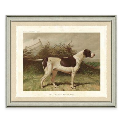 Dog Scene III Framed Art Print