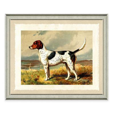 Dog Scene IV Framed Art Print