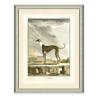 Dog Scene I Framed Wall Art Print