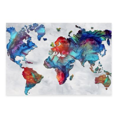 Beauty of Color v2.3 Rainbow Map Print on Metal