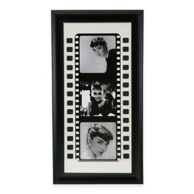 Black and White Film II Print Framed Wall Art