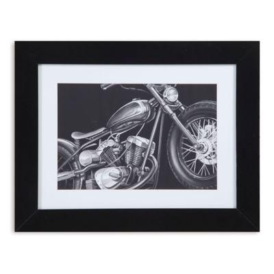 Vintage Motorcycle I Print Framed Wall Art