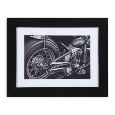 Vintage Motorcycle II Print Framed Wall Art