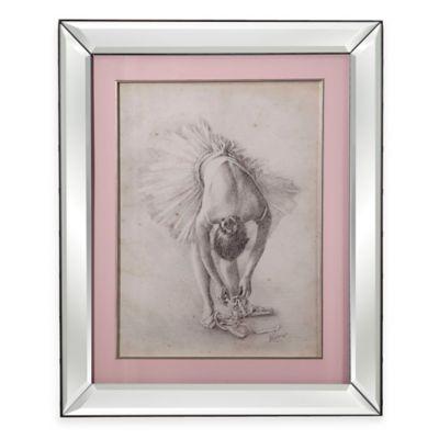 Antique Ballerina Study I Print Framed Wall Art
